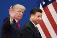 Presiden Amerika Serikat (AS) Donald Trump dan Presiden China, Xi Jinping (Foto: AFP)