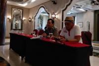 Ketua PANDI, Yudho Giri Sucahyo dalam acara press konference di Jakarta, Rabu (17/07)