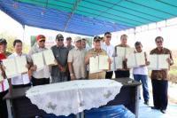Kemendes Kembangkan Prukades Tanaman Padi di KPB Transmigrasi