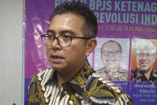 Dukung Program Jokowi, BPJS Ketenagakerjaan Bangun Anak Bangsa Produktif
