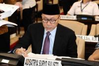 Zulkifli Hasan di sela-sela Gladi Bersih Pelaksanaan Sidang Tahunan MPR dan Sidang Bersama DPR – DPD, di Gedung Nusantara, Kompleks Parlemen Jakarta, Kamis (15/8/2019).