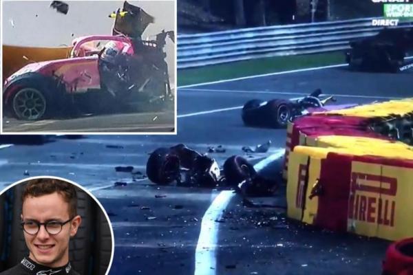 Kecelakaan di balapan Formula 2 yang menyebabkan Pebalap Anthoine Hubert tewas