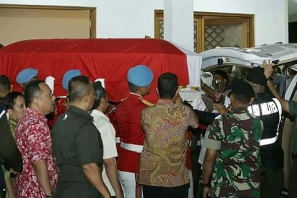 Rute Perjalanan Pemakaman BJ Habibie ke TNP Kalibata