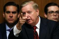 Senator Amerika Serikat, Lindsey Graham (Foto: AFP)