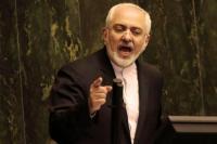 Zarif Meradang Sanksi Ekonomi AS Diperketat di Iran