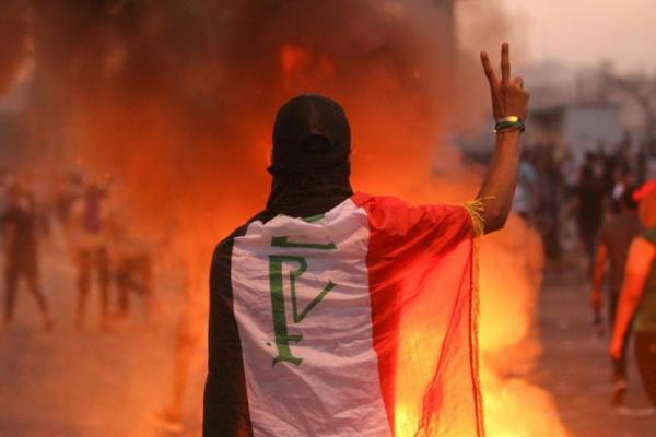 Empat Hari Demo, 60 Orang Tewas di Baghdad