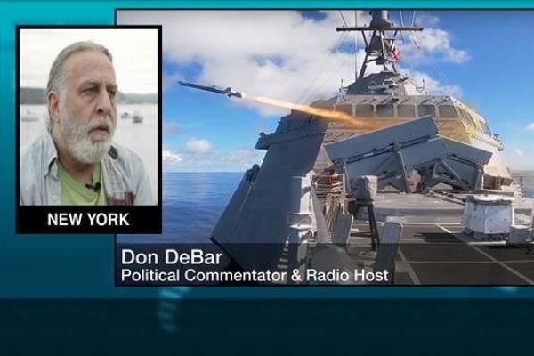 Analis politik Don DeBar