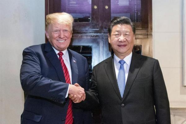 China-AS Gencatan Senjata Perang Dagang