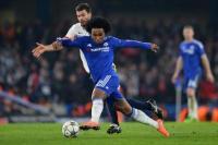 Willian optimis Chelsea raih dua gelar.