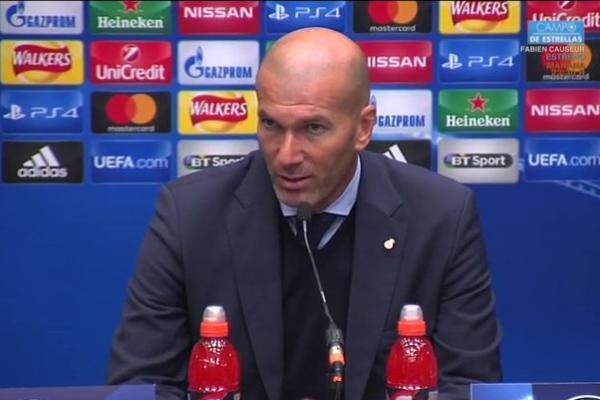 Zinedine Zidane (foto: Twitter @Donramos90)