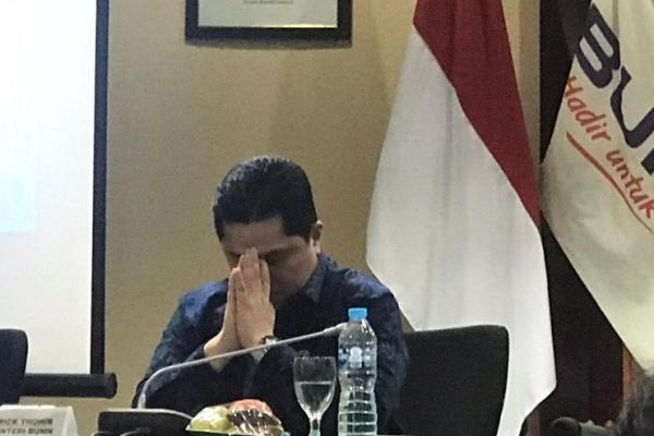 Soal Telkom, Anggota DPR Justru Kritik Gaya Bicara Erick