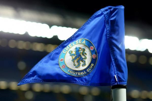 Bendera Chelsea (Foto: Fox Sports Asia)