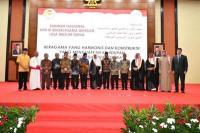 Ketua MPR RI Bambang Soesatyo Menerima Kunjungan Dari Liga Muslim Dunia (Rabithah Al Alam Al Islami) di Gedung MPR RI, Jakarta, Kamis (27/2/20).