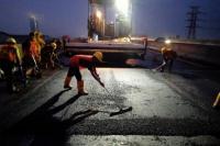 Lanjutkan Perataan Tol Layang Japek II,  Jasa Marga Minta Pengguna Jalan Hati-hati