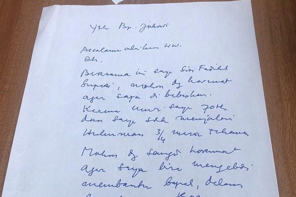 Perangi Covid-19, Pengusaha Muda ini Minta Jokowi Bebaskan Siti Fadilah Supari