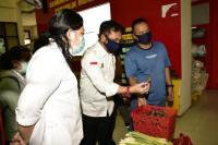 Mentan Syahrul Yasin Limpo kunjungi pasar murah TTIC Pasar Minggu, Jakarta Selatan