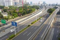 Data PUPR, Arus Lalu Lintas Jalan  Tol Turun 60 Persen Selama PSBB