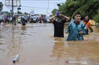 Banjir Jakarta, 56 RT Masih Tergenang