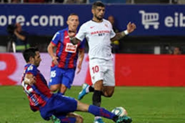 Sepak terjang Sevilla bermain dengan Atletico Madrid (foto : tagar)