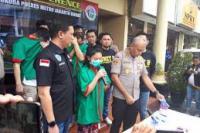 Artis Vitalia Sesha resmi ditahan (foto: mediaindonesia)