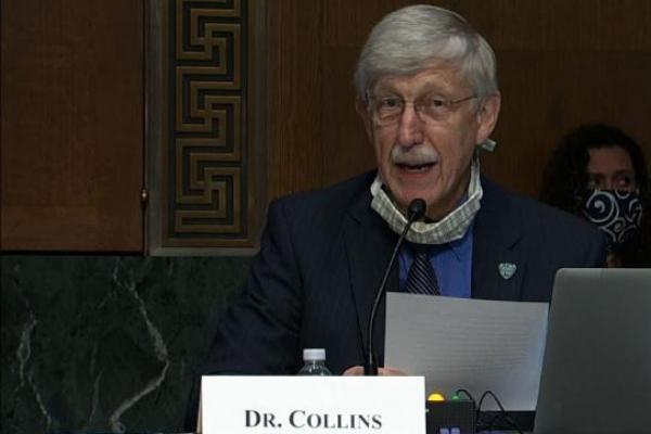 Francis Collins, pakar genetika Amerika baru saja mendapat hadiah Templeton.