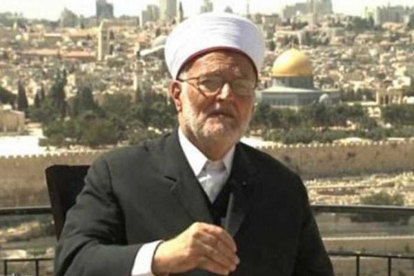 Imam Masjid besar Al-Aqsa, Sheikh Ekrima Sabri