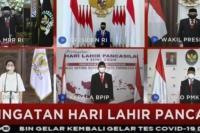Hari Lahir Pancasila, Jokowi:  Indonesia Harus Jadi Bangsa Pemenang