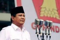 Ketua Umum DPP Partai Gerindra, Prabowo Subianto.