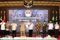 Bertemu Menhan, Pimpinan MPR: Pancasila Diamalkan, Bukan Diperdebatkan