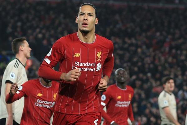 Bek Liverpool Virgil van Dijk (Liga Olahraga)