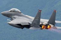 Pesawat Tempur F-15C Amerika Serikat Jatuh