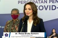 Tim Komunikasi Publik Gugus Tugas Nasional Percepatan Penanganan Covid-19, dr. Reisa Broto Asmoro.