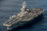 Bayangi China Latihan Militer, AS Kirim Kapal Induk ke Laut China Selatan