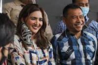 Anang Hermansyah dan Ashanty di Polda Metro Jaya (foto: suara)