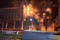 Kebakaran Gedung Kejagung Hanguskan 6 Lantai
