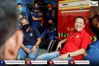 Ngobras Bersama Damkar, Ketua MPR Korek Aksi Pemadaman Kantor Kejaksaan Agung