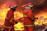 Dini Hari Tadi, Lantai Tiga Gedung Kemensos Kebakaran