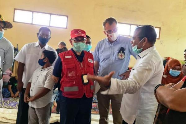 Sekjen PMI Sudirman Said kunjungi pengungsi Rohingya (PMI)