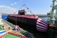 tampilan kapal selam baru Jepang (foto: UPI)