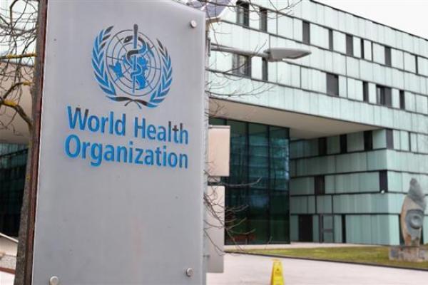 Logo Organisasi Kesehatan Dunia (WHO) (Foto: Reuters)