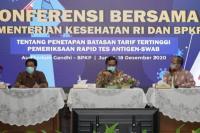 Pemerintah Tetapkan Tarif Rapid Test Antigen Rp250 ribu