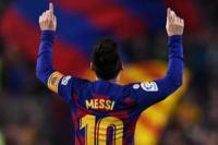 Barca Bujuk Messi untuk Tandatangani Kontrak Baru di Camp Nou