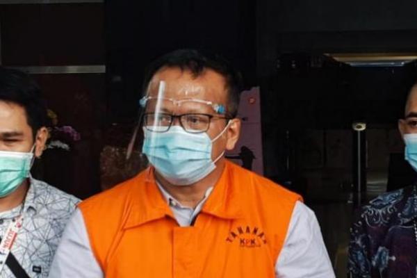 Tersangka Edhy Prabowo, kasus suap ekspor benih lobster