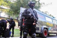 Densus 88 Tangkap 2 Terduga Teroris di Kudus
