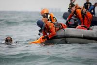 Tim DVI Polri Identifikasi Enam Jenazah Kecelakaan Sriwijaya Air