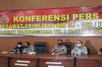 Tim DVI Polri Kembali Identifikasi 6 Korban Pesawat Sriwijaya Air