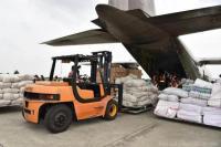 TNI AU Kirim 3 Pesawat Berisi Logistik Dan Personel Tanggulangi Bencana Di Sulbar