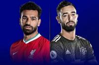 Mohammed Salah (Liverpool FC) dan Bruno Fernandes (MU) akan menjadi andalan klub nya dalam laga panas lanjutan Liga Premier nanti malam (foto Sky Sport)