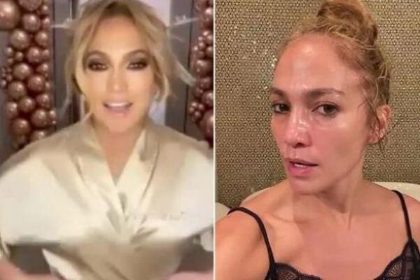 Jennifer Lopez membantah dia Botox dengan balasan Instagram yang lancang. (Foto: mirror)
