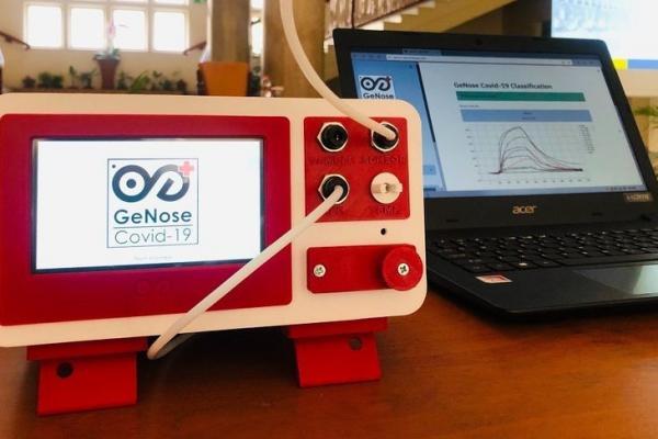 GeNose pendeteksi Covid-19 karya ahli UGM siap dipasarkan setelah mendapatkan izin edar dari Kementerian Kesehatan. (Foto Dokumentasi Humas UGM)